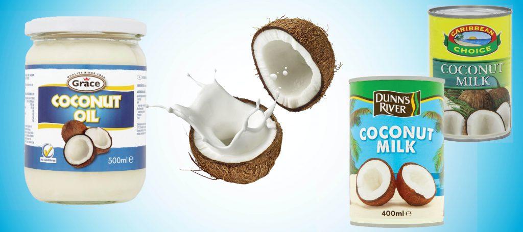 Кокосово мляко и масло