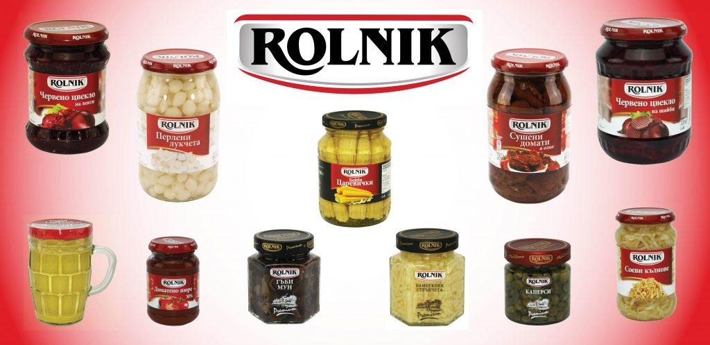 ROLNIK - полски плодови и зеленчукови консерви